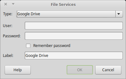 Google Drive on LibreOffice