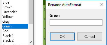 LibreOffice Writer Rename AutoFormat