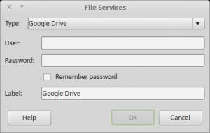 Google Drive on LibreOffice