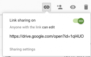 Link Sharing On