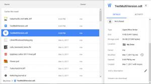 Google Drive View details