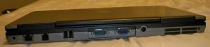 Dell Latitude D630 back
