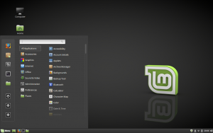 Linux Mint 18.2 Sarah desktop