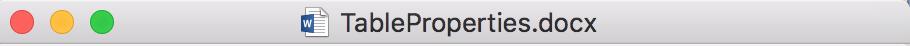 LibreOffice Writer Titlebar in a Mac