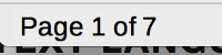 Page Number in LibreOffice Writer Status Bar
