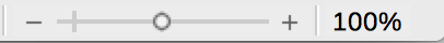 Zoom in Status bar of LibreOffice Writer