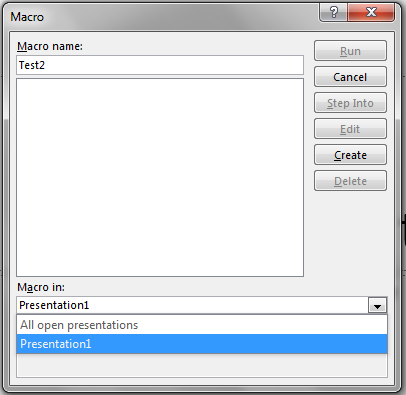LibreOffice makes it easy for programmers by allowing macros
