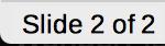 Slide Number in Status bar for LibreOffice Impress
