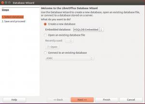 Database Wizard in Ubuntu