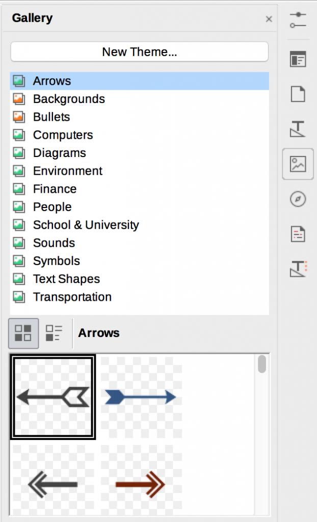 LibreOffice Gallery